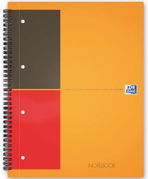Oxford INTERNATIONAL Notebook, 160 bladzijden, ft A5+, gelijnd