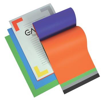 Gallery gekleurd tekenpapier Multicolor, ft 24,5 x 34,5 cm, 120 g/m², blok van 20 vel