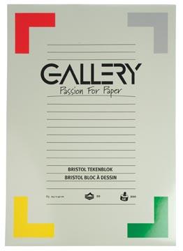 Gallery Bristol tekenblok, ft 29,7 x 42 cm, A3, 200 g m², 20 vel