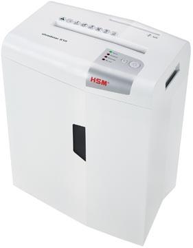 HSM shredstar X10 papiervernietiger, 4,5 x 30 mm