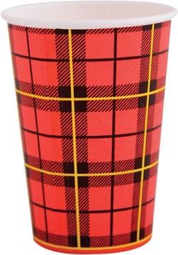 Drinkbeker uit karton, 180 ml, diameter 70,9 mm, pak van 100 stuks