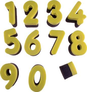 Bouhon cijfersponsjes