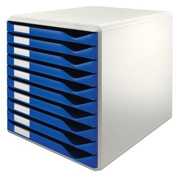 Leitz ladenblok lichtgrijs/blauw