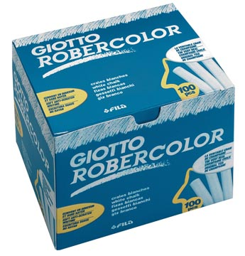 Giotto krijt Robercolor wit
