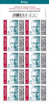 Bpost postzegel nationaal, Koning Filip, blister van 100, prior