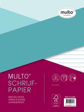 Multo ringbandinterieur, voor ft A5, 28 lijnen, met kantlijn
