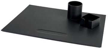 Pavo 3-delige bureauset zwart