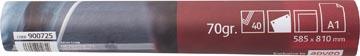 Pergamy flipchartpapier, ft A1, effen, rol met 40 blad