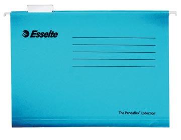 Esselte Classic hangmappen voor laden, tussenafstand 365 mm, blauw