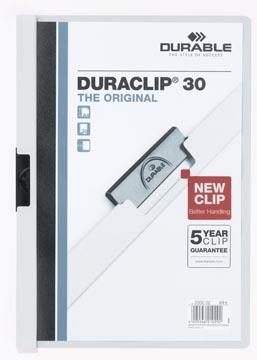 Durable klemmap Duraclip Original 30 wit