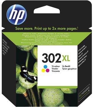 HP cartouche d'encre 302XL, 330 pages, OEM F6U67AE, 3 couleurs