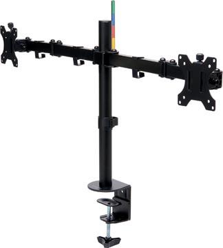 Kensington Smarfit monitorarm, met uitschuifbare arm, dubbel