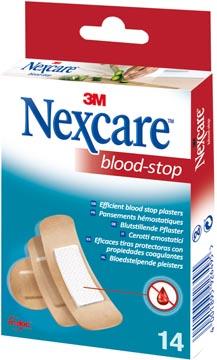 3M bloedstelpende pleister Nexcare Blood-Stop, pak van 14 stuks