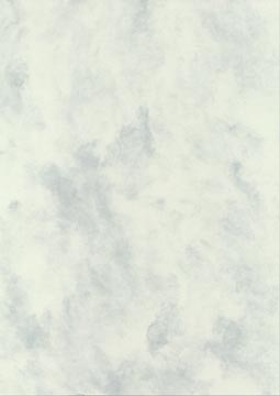 Decadry structuurpapier grijsgroen gemarmerd, 165 g, pak van 50 vel